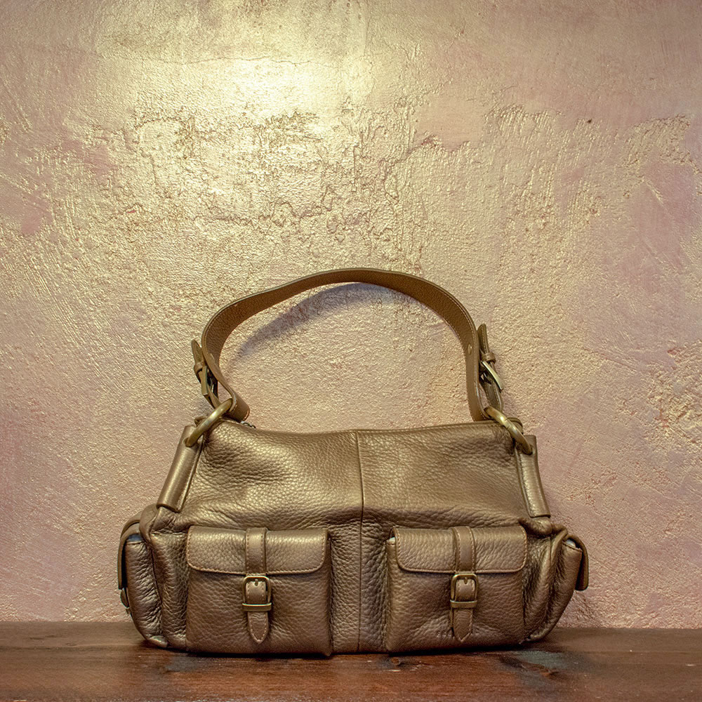 Frederic Paris Tasche bronze metallic 129€