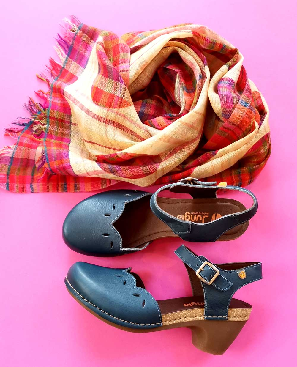 Jungla Sandale blau
