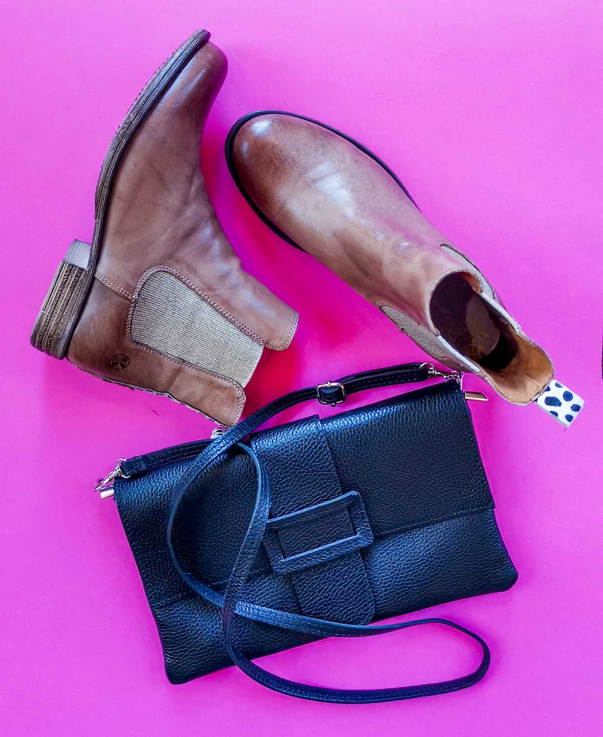 Ankle Boot cognac Post XChange