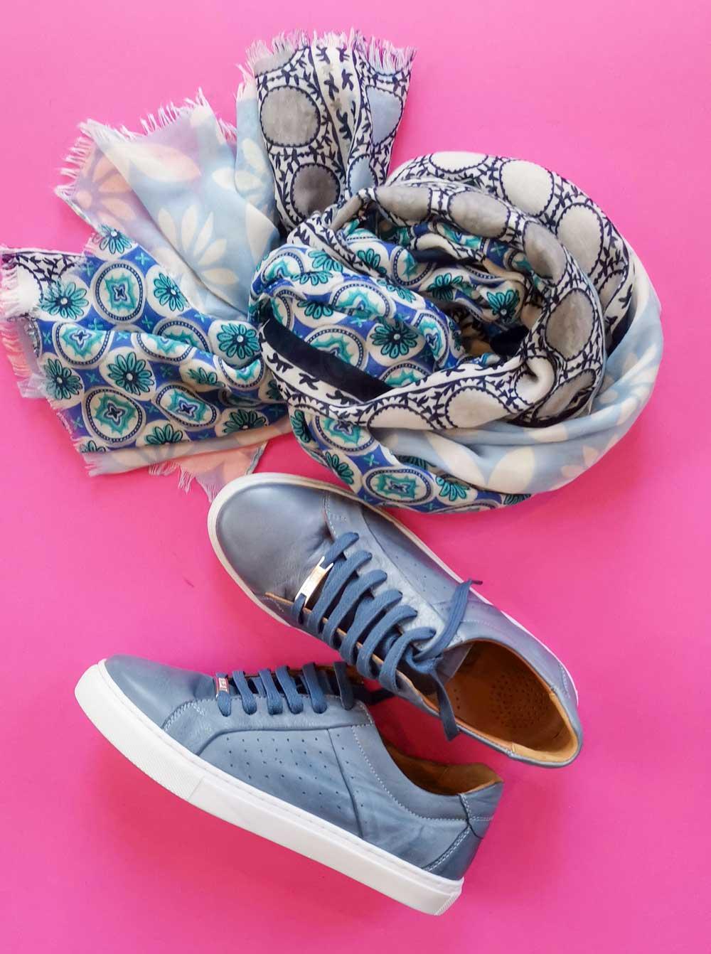 Carmela Sneaker blau