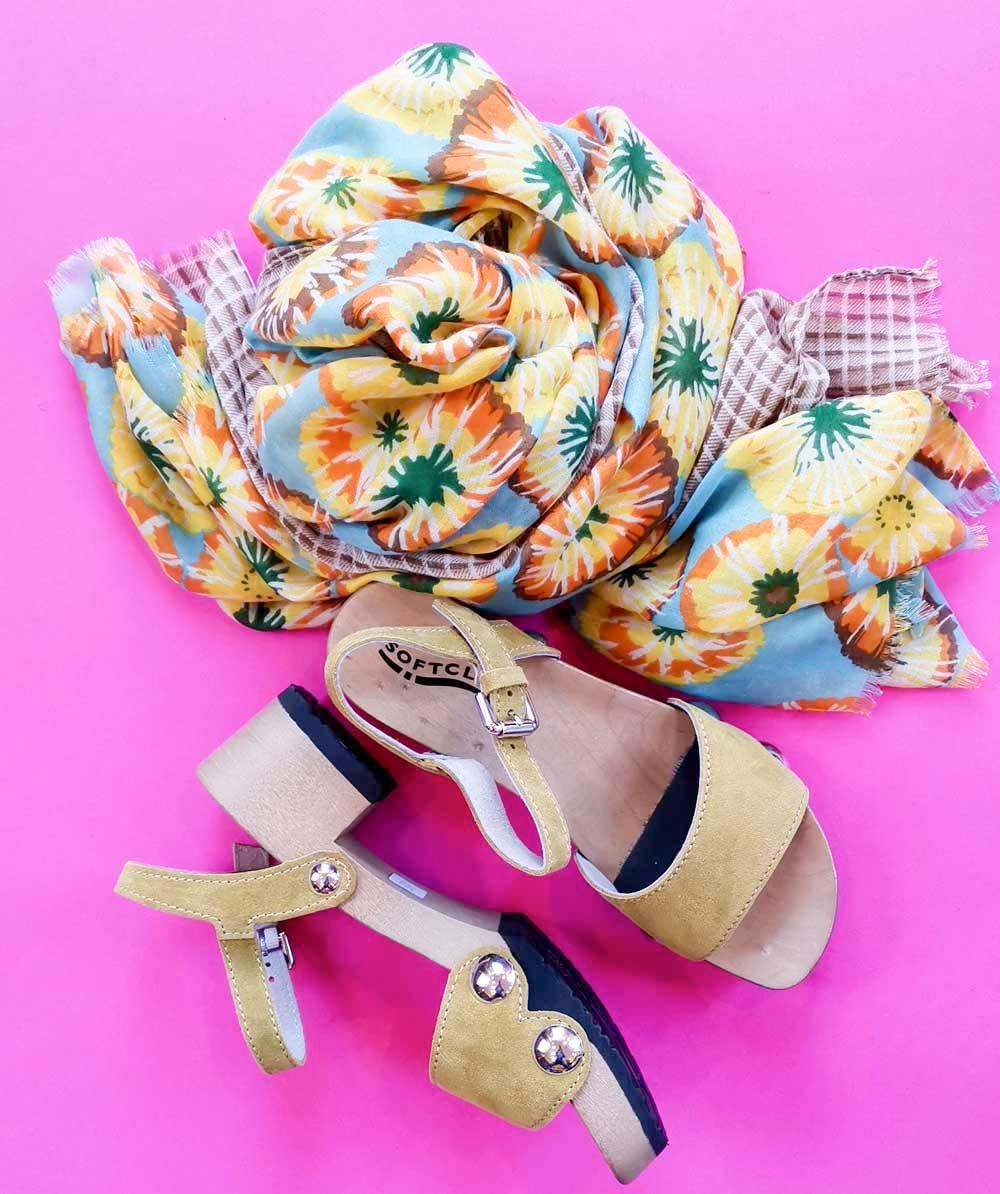 Softclox Penny Sandale gelb