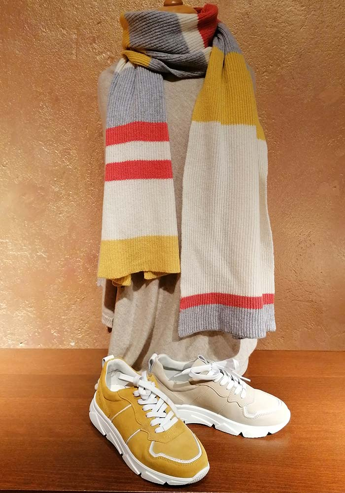 Otto Klein Sneaker beige senf