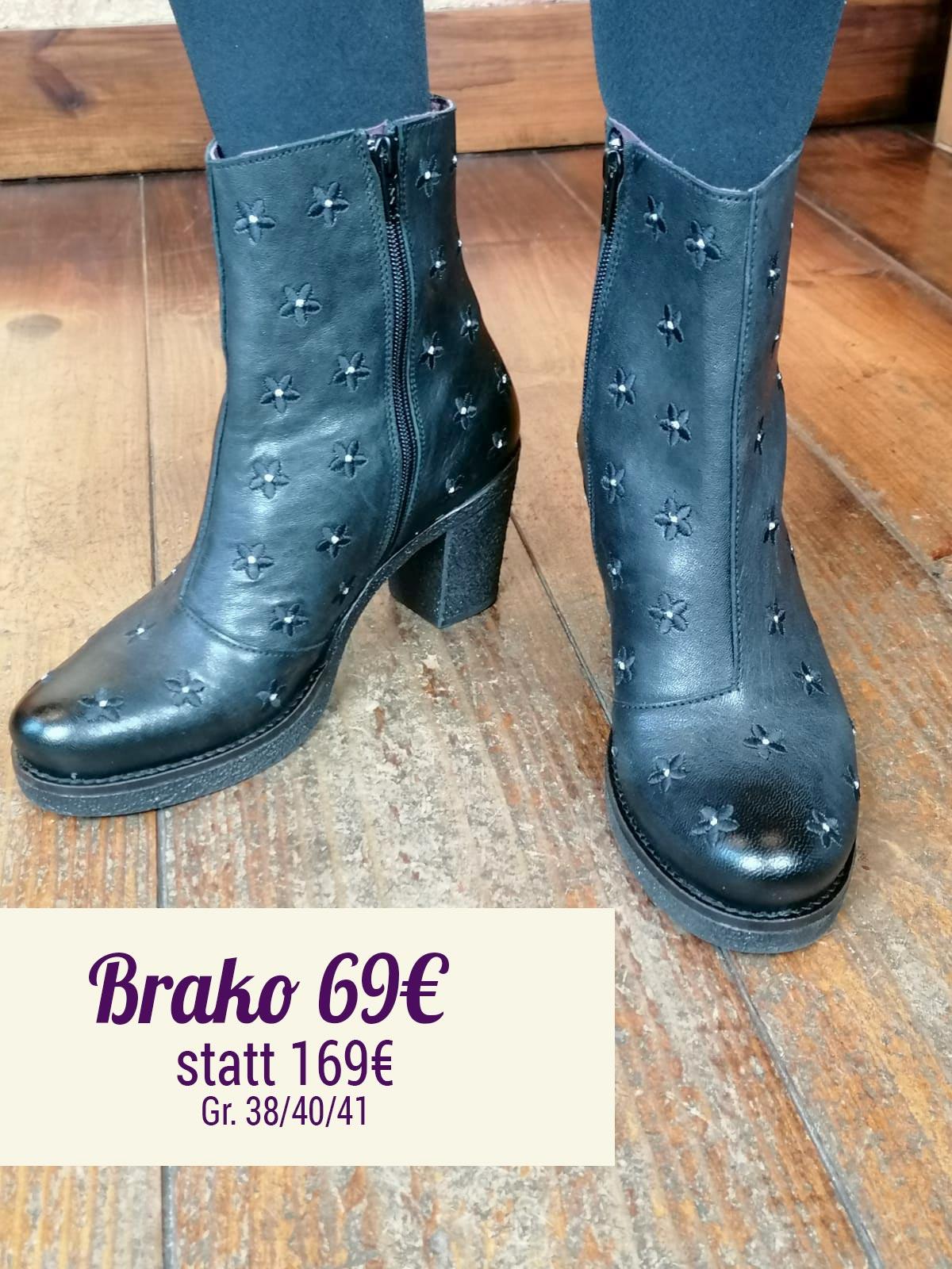 Brako Rock Negro Stiefelette
