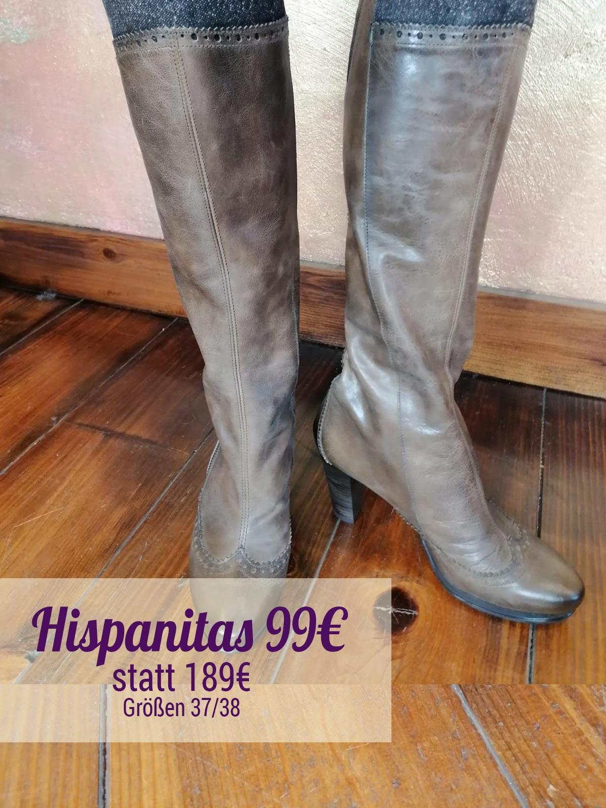Hispanitas--Leder-Stiefel