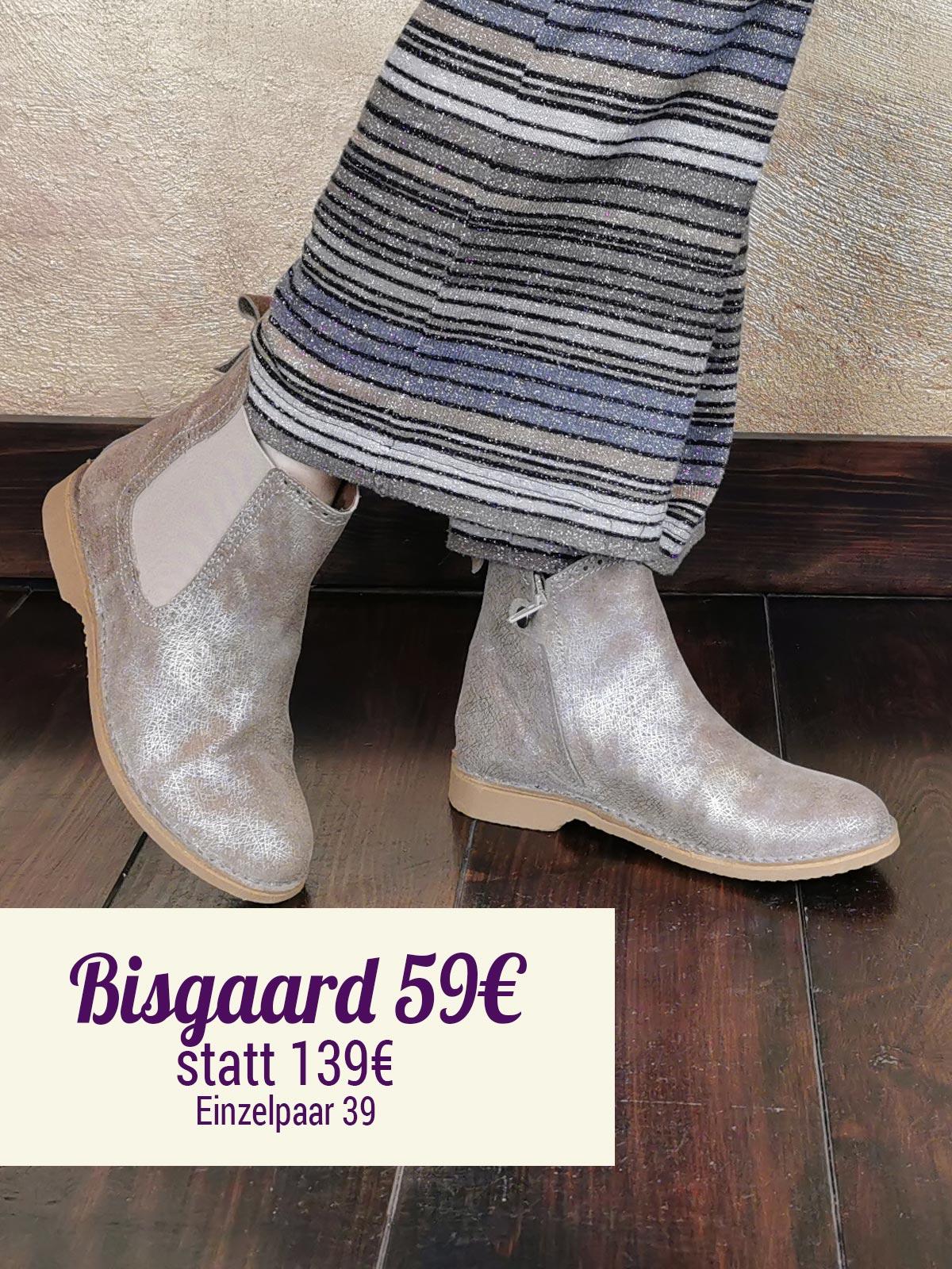 Bisgaard Chelsea Boot metallic