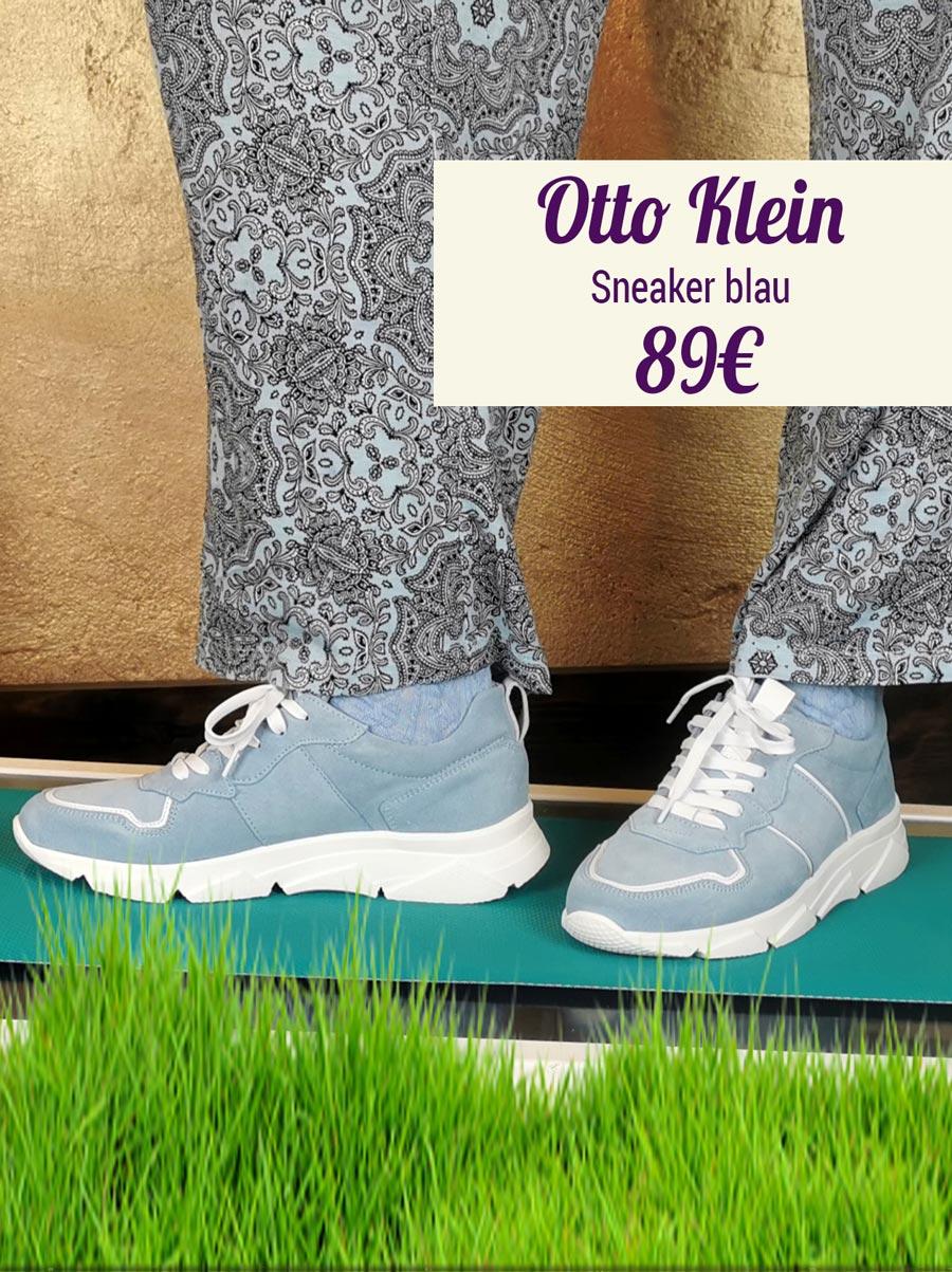 Otto Klein Sneaker blau