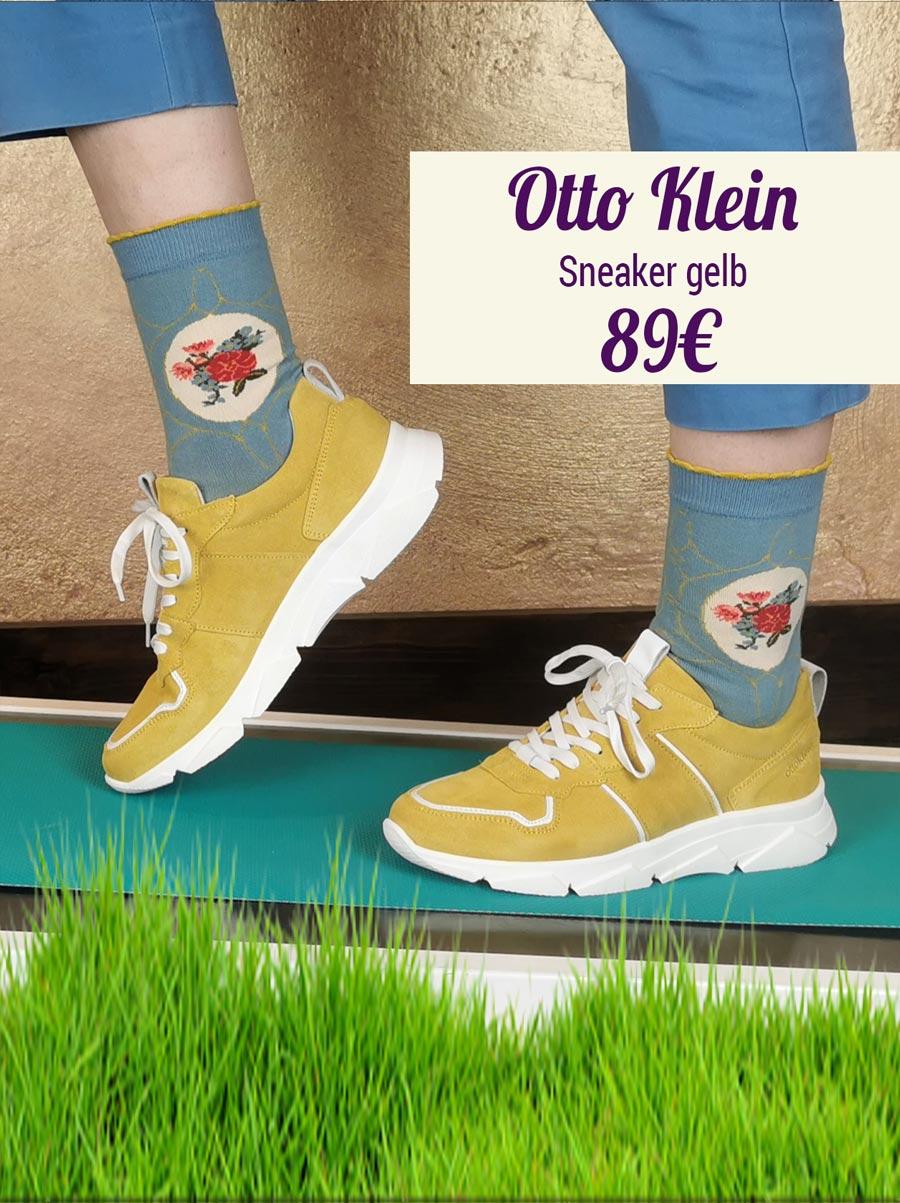 Otto Klein Sneaker gelb