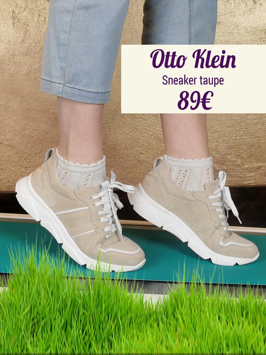 Otto Klein Sneaker taupe