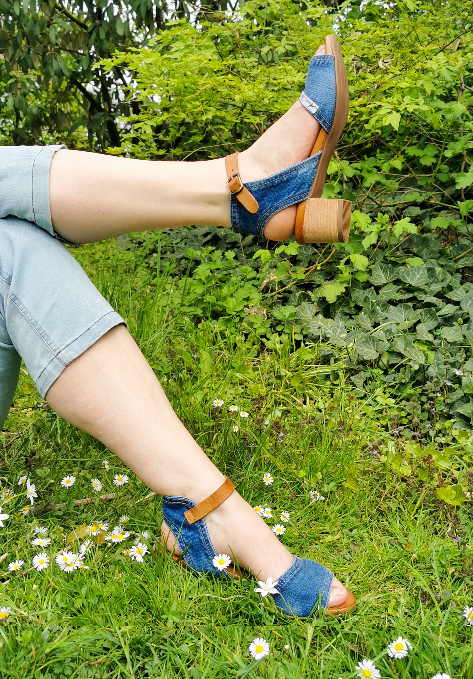 Anna Ros Jeanssandale 69,-