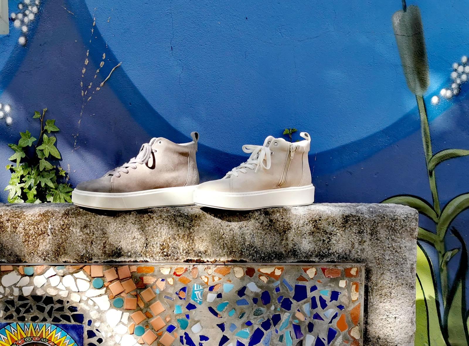 Post Exchange Ledersneaker sand 99,-