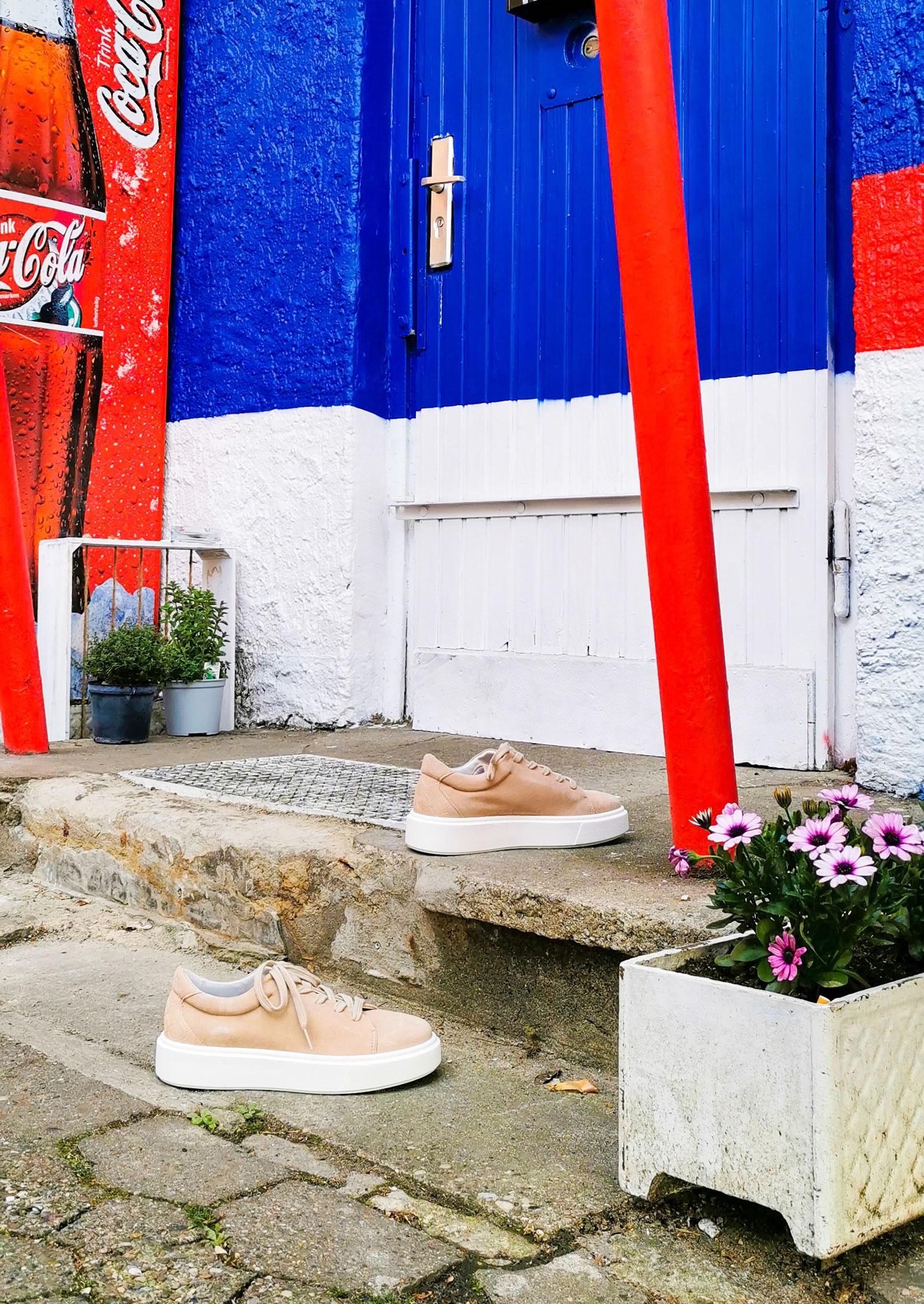 Post Exchange Ledersneaker sand 99,- €
